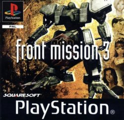 front mission 3 front cover