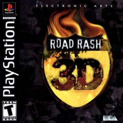 road rash 3d front cover