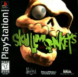 skullmonkeys front cover