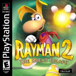 rayman 2 front cover