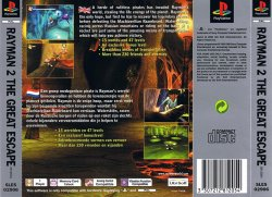 rayman 2 back cover