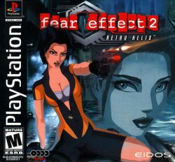 Fear Effect 2 front cover