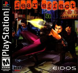 Fear Effect front cover