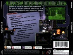 Syphon Filter back cover