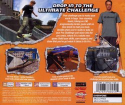 Tony Hawk Pro Skater 4 back cover
