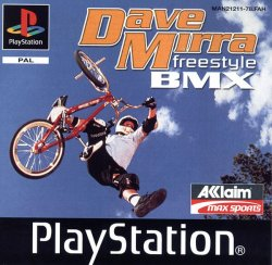 Dave Mirra Freestyle BMX front cover