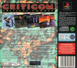 Criticom - Critical Combat back cover