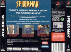 Spider-Man back cover