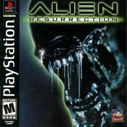 Alien Resurrection front cover