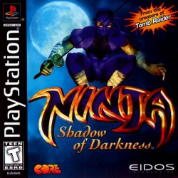 Ninja - Shadow of Darkness front cover