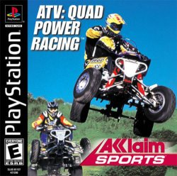 ATV - Quad Power Racing front cover