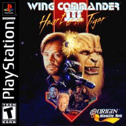 Wing Commander III - Heart of the Tiger front cover