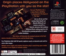 Wing Commander III - Heart of the Tiger back cover