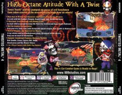 twisted metal 4 back cover