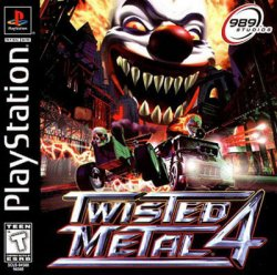 twisted metal 4 front cover