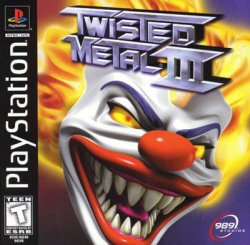 twisted metal 3 front cover