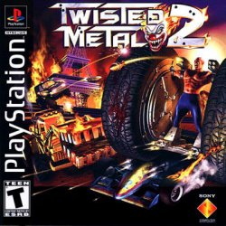 twisted metal 2 front cover