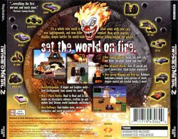 twisted metal 2 back cover