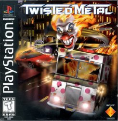 twisted metal front cover