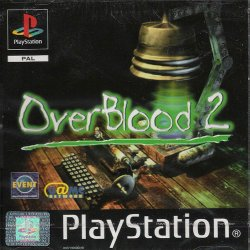 OverBlood 2 front cover