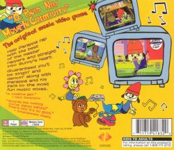 Parappa the Rapper back cover