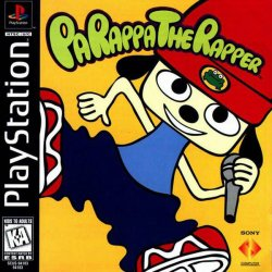 Parappa the Rapper front cover