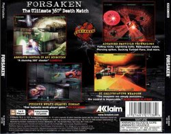 Forsaken back cover
