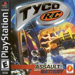 Tyco R-C: Assault with a Battery front cover