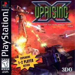 Uprising X front cover
