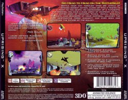 Uprising X back cover