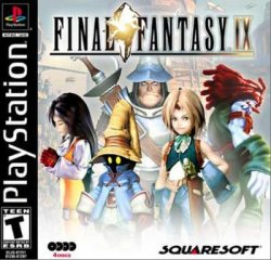 Final Fantasy 9 front cover