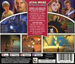 Star Wars Episode I: The Phantom Menace back cover