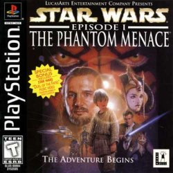 Star Wars Episode I: The Phantom Menace front cover