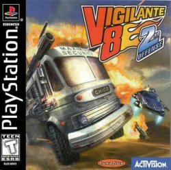 Vigilante 8: 2nd offense front cover