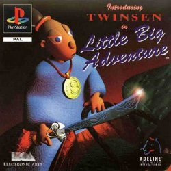 Little Big Adventure: Twinsen's Adventure front cover