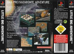 Little Big Adventure: Twinsen's Adventure back cover