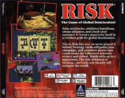 Risk: The Game of Global Domination back cover