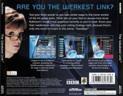 The Weakest Link back cover