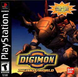 Digimon World front cover