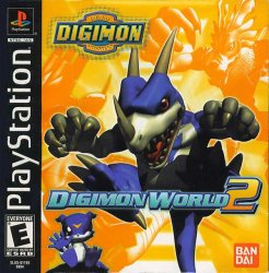 Digimon World 2 front cover