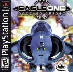 Eagle One: Harrier Attack front cover