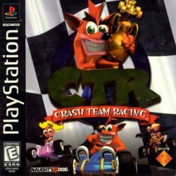 Crash Team Racing front cover