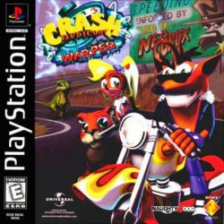 Crash Bandicoot 3: Warped front cover