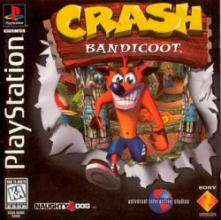 Crash Bandicoot front cover