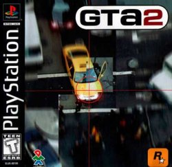 Grand Theft Auto 2 front cover