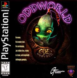 Oddworld: Abe's Oddysee front cover