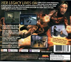 Tomb Raider 5: Chronicles back cover