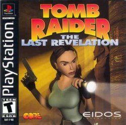 Tomb Raider 4: The Last Revelation front cover