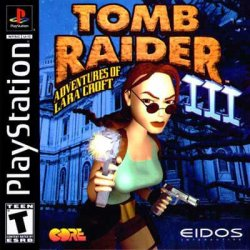 Tomb Raider 3 front cover