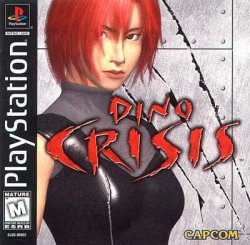 Dino Crisis front cover